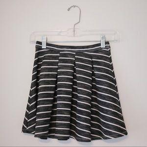 Abercrombie kids stripped skirt